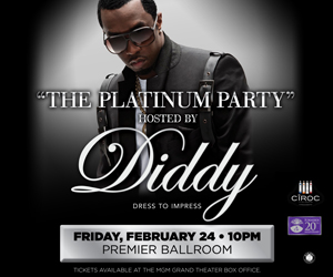 "P Diddy Foxwoods ""Platinum Party"" @Foxwoods"